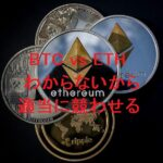 +32万円 ビットコインを半分利確してイーサリアムを購入。どっちが優勢?